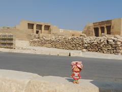 The pyramid workers' cemetery. (Eurynome101) Tags: egypt strawberryshortcake