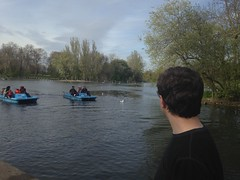 Regents Park on day one (abbyef) Tags: lake london guion regentspark