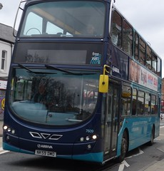 Chester le Street (Andrew Stopford) Tags: eclipse wright arriva chesterlestreet vdl 2dl db300 nk59dmo