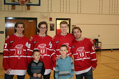 The Dubuque Fighting Saints Visit Table Mound