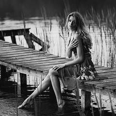 Marta (zbigniew wakowski) Tags: bridge woman water innamoramento