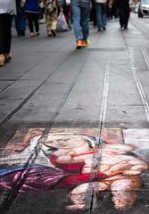 Madonna con bambino (SDB79) Tags: street art strada arte madonna napoli murales cultura fede disegno bambino gesu disegnare religione camminare