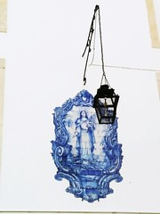 Saints and Lamps (SilviaChi85) Tags: lampioni portogallo sante maioliche