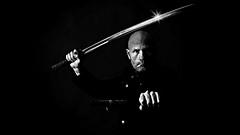 (Donald Palansky Photography) Tags: me self sony sword alpha alienbees strobist donaldpalansky sonyslta99v