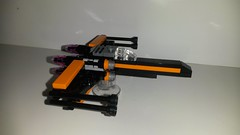 20160424_001655 (p13c30fch33s3) Tags: starwars lego mini xwing poes resistance t70 30278