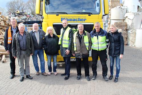 Besuch der Firma Plömacher in Metjendorf mit dem SPD-Ortsverein Wiefelstede