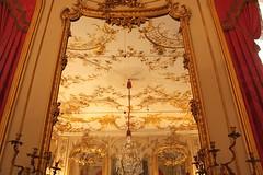Potsdam  -  Preussens Glanz und Gloria IMG_0170 (nb-hjwmpa) Tags: spiegel schloss potsdam sanssoucie preussen kronleuchter markbrandenburg deckendekor