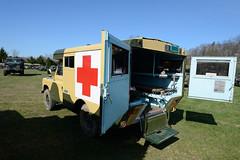 """109"""" Land Rover ambulance bodied by Marshall's of Cambridge (albionphoto) Tags: usa lafayette jeep nj cadillac ambulance landrover willys oshkosh militaryvehicle marshallofcambridge"""