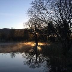 #dawn #goldenhour (LesHutchinson) Tags: dawn stirling instagram ifttt