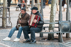 Street music players (Michaelou Photography) Tags: street music photography frankfurt players citycenter