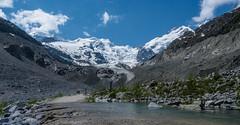 Glaciar Morteratsch (alcahazada) Tags: sky mountains clouds alpes landscape switzerland suiza paisaje cielo nubes montaas berninapass saariysqualitypictures