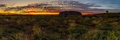 Uluru 2 (fotowomble) Tags: panorama rock sunrise canon landscape nt pano australia 7d uluru iconic hdr 1585mm