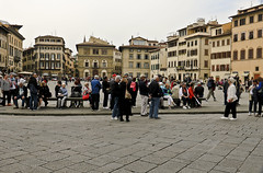 A2406FLOb (preacher43) Tags: italy building architecture outdoors florence basilica di sacred firenze piazza croce