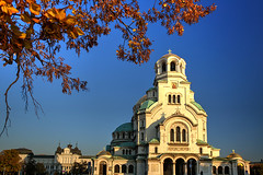 Happy Orthodox Christmas (hapulcu) Tags: autumn cathedral sofia bulgaria bulgarie bulgarien bulgaristan българия софия