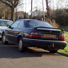  - (uk_senator) Tags: blue rover 1998 800 8series