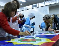 Community helps AlAqsa Mosque create Mural (joepiette2) Tags: community muslim murals alaqsa