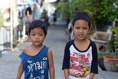 handsome brothers (the foreign photographer - ) Tags: boys portraits thailand nikon brothers bangkok handsome bang bua khlong bangkhen d3200 dec262015nikon