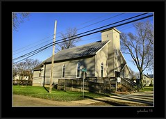 Maybee Congregational Christen Church (the Gallopping Geezer 3.8 million + views....) Tags: old building church sign mi rural canon religious worship michigan country religion structure business signage backroads smalltown geezer corel 2015 maybee congregationalchurch 5d3