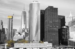 New York Skyline (landeicgn) Tags: bw white black skyscraper schwarz hochhaus weis