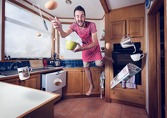 3/52 - Zero Gravity Cooking (DeanPant) Tags: cooking canon floating gravity 6d orbiting speedlites
