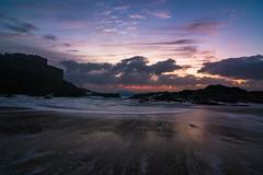 Dunbogan, NSW Mid North Coast (http://martographyau.blogspot.com.au/) Tags: ocean light sea sky cliff sun seascape colour beach nature water clouds sunrise coast nikon rocks waves australia tokina headland