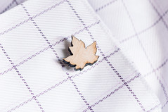 Cufflinked (Grant is a Grant) Tags: macro maple micro mapleleaf cufflinks productphotography nikkor105mm nikond90 vsco 105mm28g vscofilm
