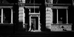 Bank of memories (Pat Kelleher) Tags: england blackandwhite black blanco newcastle candid streetphotography schwarzweiss patkelleher patkelleherphotography sonya6000