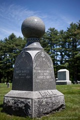 How Appropriate (John Riedell) Tags: cemetaries gravestones