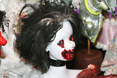 Zombie Doll (shaire productions) Tags: art film face movie toy blood doll artistic zombie decorative decoration horror undead bloody facepaint creature decor