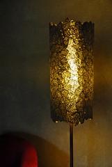 luminaire 0277 (l'attribut-lumire) Tags: france design lampe licht lumire carton objet nuit dco naturelle clairage abstrait abatjour luminaire cuivre recyclage ralisation nikond3000 dcorationintrieur crationlumineuse papiernpalais