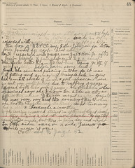 Dr. Ellen Miner's examination ledger, pg 48b (The Urbana Free Library Digital Collections) Tags: medicalrecords champaignillinois womeninmedicine ellenminer