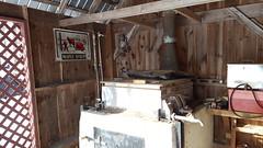 Inside the sugar house