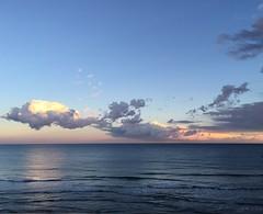 The white whale... (mau_tweety) Tags: light sea sky italy sun white water clouds reflections italia nuvole mare waves liguria cielo acqua riflessi bianco luce onde