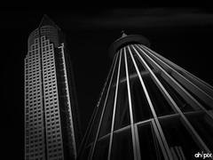 Fairtower & Undergroundstation Frankfurt, Germany (Springer@WW) Tags: tower station europa europe hessen frankfurt sony fair messe undergound hochhaus messeturm alpha7