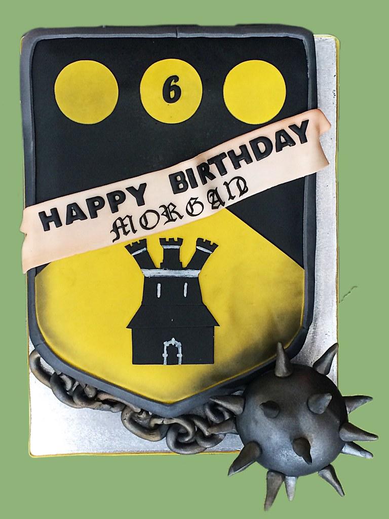 Rolipayne Tags Cake Heraldry Crest Knights Shield Mace Recent Morningstar Roli Munn