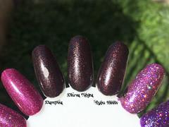 Vampira Polish x Viva Negra x Lubu Heels (Daniela Mayumi M.) Tags: glitter nail nails nailpolish unhas unha risqu esmaltes esmalte naillacquer vivanegra eyeko chinaglaze lubuheels vampirapolish