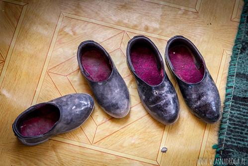 Typowe pamirskie buty