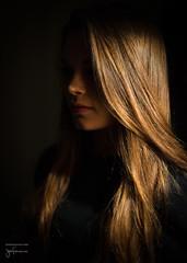 Under a veil of shadows (josefrancisco.salgado) Tags: portrait nikon retrato nikkor d4 50mmf14g rachelreneemiller