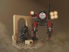 Droneuary 2016 (Masked Builder) Tags: lego scifi moc drone pewpew droneuary
