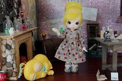 Myst Makes a Monster #10 (Arthoniel) Tags: toy miniature lab doll ns ooak indoor collection laboratory figure bjd rement fairyland basic diorama dollhouse myst balljointeddoll megahouse icis roombox pukifee thimblestumphollow
