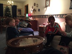 """Grandma Shirley Gets Her Christmas Gift • <a style=""""font-size:0.8em;"""" href=""""http://www.flickr.com/photos/109120354@N07/24798650096/"""" target=""""_blank"""">View on Flickr</a>"""