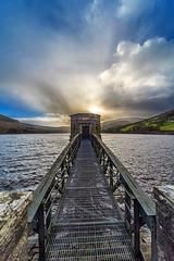 Talybont Reservoir (karlmccarthy1969) Tags: uk sky lake water beautiful wales clouds countryside nikon wideangle reservoir breconbeacons