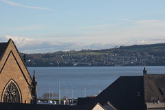 February 9th 2016 (lucyphotography) Tags: blue water buildings river scotland view dundee tay