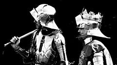 King Richard III And His Right Hand Man (Fleet flyer) Tags: king leicestershire royal medieval knight crown reenactment bosworth kingrichardiii kingrichard bosworthbattlefield thewarsoftheroses 22ndaugust1485 thebattleofbosworth1485