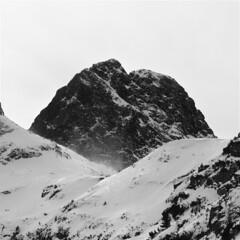 Malyovitsa (W140) Tags: winter blackandwhite mountain snow nature monochrome canon square landscape europe rila canon400d