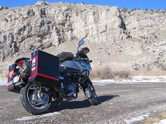 In Montana (montanatom1950) Tags: montana suzuki dl650 vstrom motorcycletouring