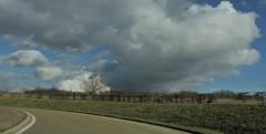 ceux qui roulent (laetitiablabla) Tags: road sky cloud france poetry burgundy country route ciel nuage bourgogne campagne yonne