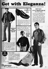Get with Eleganza! (Tom Simpson) Tags: fashion vintage advertising ad advertisement 1970 1970s vintagead