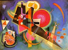 in Blue, 1925 // by Wassily Kandinsky (mike catalonian) Tags: 1920s abstract russia 1924 wassilykandinsky