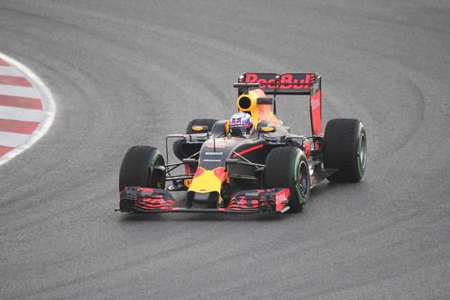 Daniel Ricciardo in Formula One Winter Testing 2016